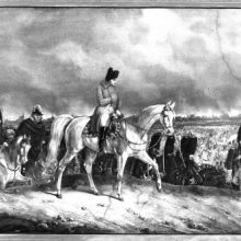 Napoleon vor Moskau, 14. September 1812